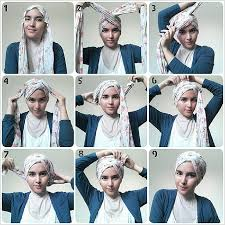 tutorial jilbab turban dian pelangi tutorial hijab segi empat simple hijab tutorial pinterest