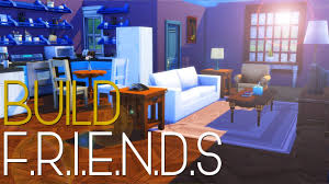 friends apartment speed build sims 4 youtube