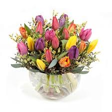 flowers delivery nyc multicolor tulip garden flower delivery nyc plantshed