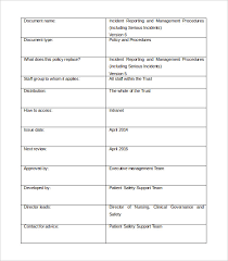 mi report template management report templates 22 free word pdf documents