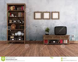 vintage livingroom vintage living room stock image image 28787271