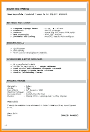 resume format word cv format for word new resume format cv format word free