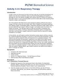Resume For Teenagers Respiratory Therapist Resume Examples Hotel Sales Sample Resume