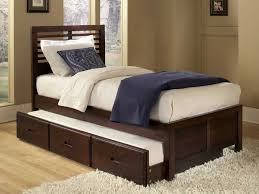double trundle bed bedroom furniture 15 1 king single bed withtrundle brown kids bedroom furniture