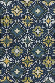 exellent blue and yellow area rugs threshold indooroutdoor