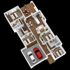 simple four bedroom house plans 4 bedroom apartment house plans