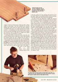 art and crafts style side table plans u2022 woodarchivist