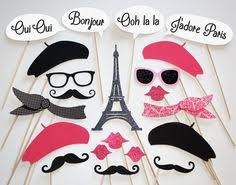 Photo Booth Prop Ideas By The Prop Market Paris Photo Booth Props Parisian Photo Booth