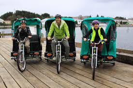 Wildfire Designs Bicycles by Sitka Pedicabs Ready For 2012 Summer Tourist Season Alaska