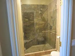 Leaking Shower Door Glass Enclosed Shower With Bench Leaking Showers Stall Montours Info