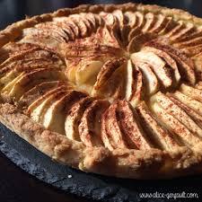 tarte aux pommes sans sucre ajouté gerfault