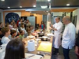 atelier de cuisine montpellier les enfants autour des chefs jumeaux pourcel pour un atelier de