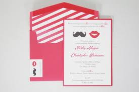 coed bridal shower co ed bridal shower invitations mustache