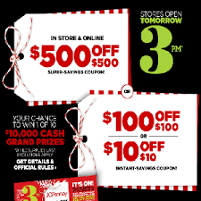 jcpenney 500 500 100 100 or 10 10 coupon in