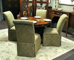 chairs on casters for dining table dining chairs on casters 4
