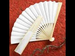 how to make paper fans how to make a paper fan easy simple hd