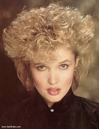 1980s short wavy hairstyles short 1980s vintage hairstyle with volume and heights