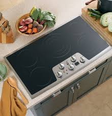 36 Inch Downdraft Electric Cooktop Ge Profile Series 36