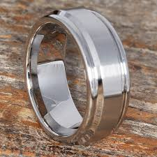 wedding ring alternative chrome cobalt rings alternative wedding bands