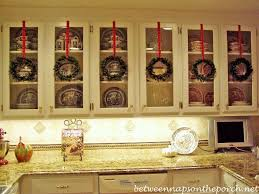 how to clean and preserve kitchen cabinets decorating with preserved boxwood wreaths between naps on