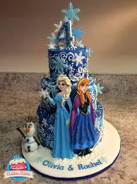 frozen birthday cake cake layers 8 6 4