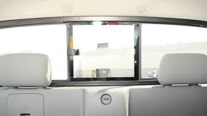 2012 nissan frontier rear sliding window youtube