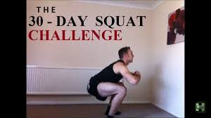 After Challenge 30 Day Squat Challenge Curtis High
