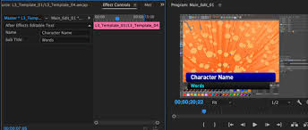 live text templates with after effects u0026 premiere pro cc 2017