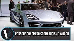 porsche panamera concept porsche panamera sport turismo wagon concept youtube