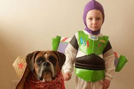 Fantastic Halloween Costumes Halloween Costumes Kids Young Boy Dog