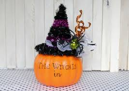 Halloween Ornament Tree by Fake Pumpkin Witch Craft For Halloween