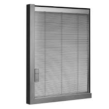 Motorised Vertical Blinds Between Glass Blinds Magnetic U0026 Motorised Integral Blinds