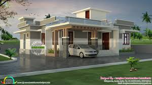 house plans in kerala with estimate 1200 sq ft rs 18 lakhs cost estimated house plan house house