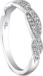 braided wedding band jeff cooper braided diamond wedding band rp1613b