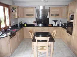 cuisine chene massif moderne cuisine chene massif moderne bois clair conception de maison