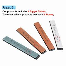 Sharpening Stone For Kitchen Knives by Upgraded Version Fixed Angle Knife Sharpener Professional Kitchen