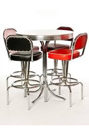 Retro Bar Table Manhattan Bar Table Stools Retro Mid Century Modern Decor