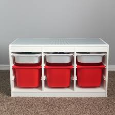 Kids Activity Table With Storage Lego Activity Table With Storage Home Table Decoration