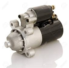 automotive starter motor and selenoid stock photo picture and