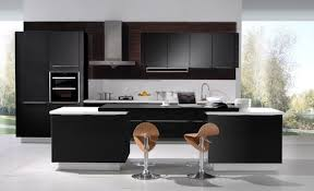solid wood kitchen cabinets miami solid wood flat panel wenge style kitchen modern