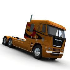 kenworth cabover models freightliner argosy truck 2014 3d model