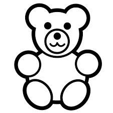 free printable teddy bear coloring pages funycoloring