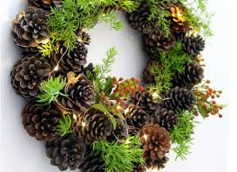 pinecone wreath remodelaholic make an easy diy pinecone wreath in one hour