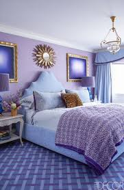 dark purple wall paint decoration ideas marine grey bedroom