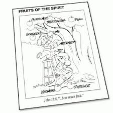 fruits of the spirit fearfully and wonderfully made psalm coloring