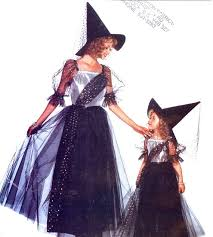 Girls Witch Halloween Costumes Girls Witch Costume Sewing Pattern Butterick 3588 Halloween