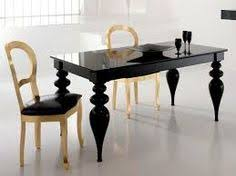modern baroque black lacquer dining table inspiration for our