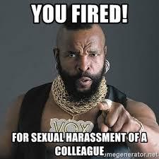 Sexual Harrassment Meme - harassment meme