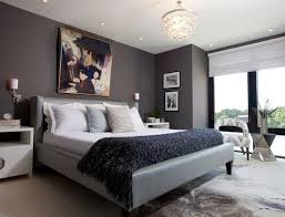 stylish and peaceful interior design paint colors bedroom 16 gray