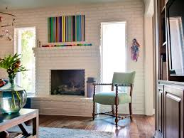 15 ideas for decorating your mantel year round hgtv s decorating bright colors some kitsch midcentury modern family room
